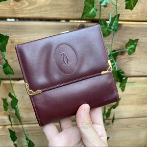 Authentic cartier wallet